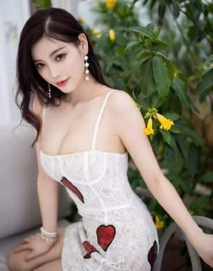 Chinese Teen Girl With Perfect Long Black Hair Sensual Tight Body