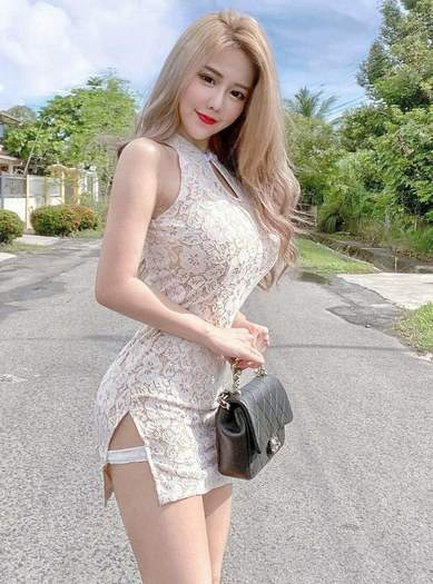 Seductive Busty Blonde Vietnamese Girl With A Hot Body Small