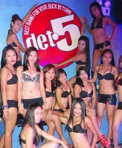 Pinay Bargirls Inside Det 5 Perimeter Road Angeles City Philippines