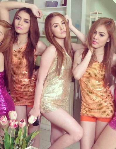 Pretty Pinays Dressed Up Ready To Party On A Friday Night